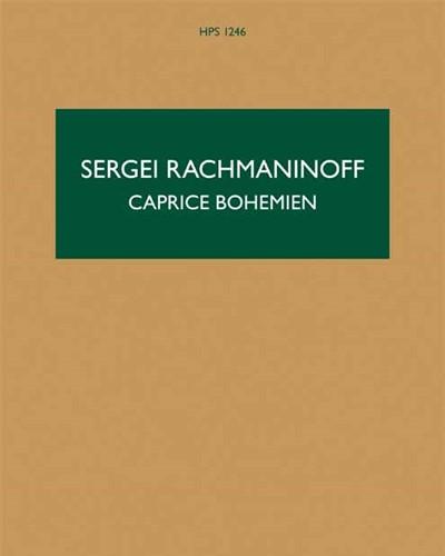 Caprice Bohèmien, op. 12