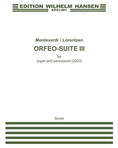 Orfeo-Suite III