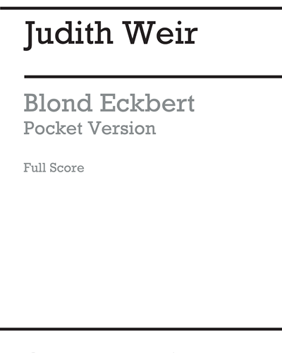Blond Eckbert [Pocket Version, 2006]