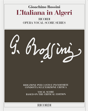 L'italiana in Algeri [Critical Edition]