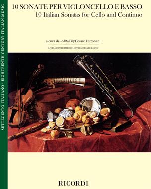 10 Sonate per violoncello e basso continuo
