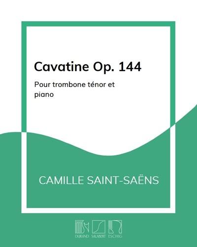 Cavatine Op. 144
