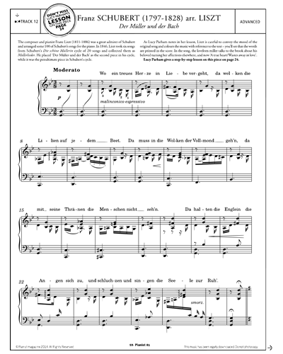 Der Müller und der Bach