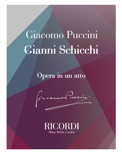 Gianni Schicchi [Traditional]