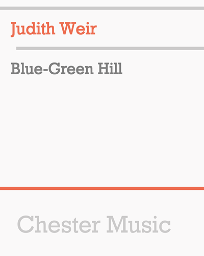 Blue-Green Hill