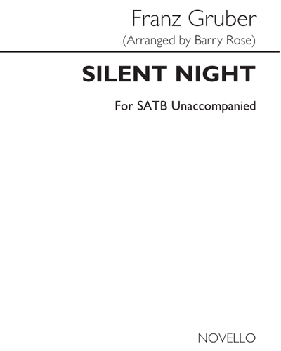 Silent Night (Arranged by Barry Rose)