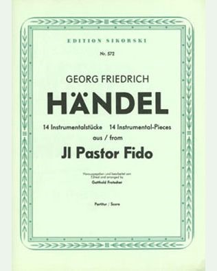 "14 Instrumental Pieces from the Opera ""Il pastor fido"""