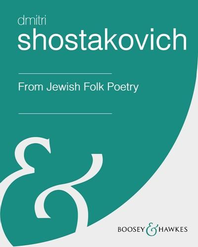 From Jewish Folk Poetry