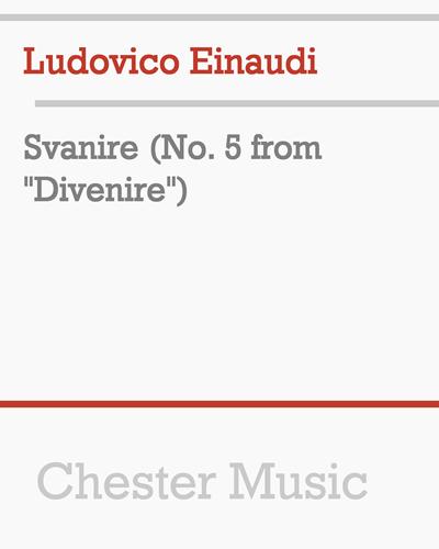 """Svanire (No. 5 from """"Divenire"""")"""