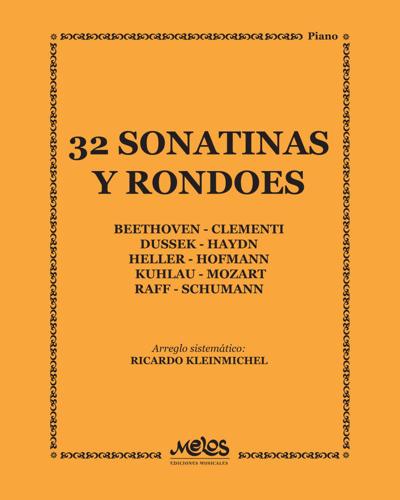32 Sonatinas y rondoes