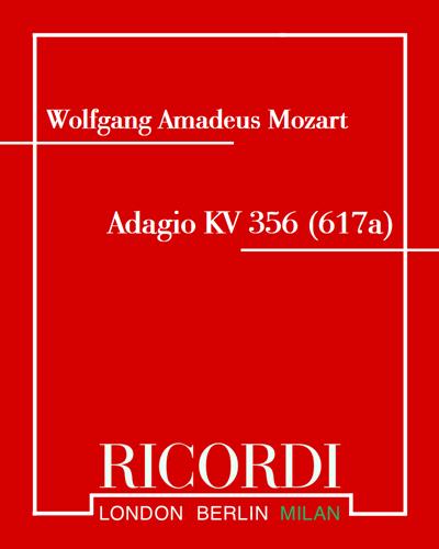 Adagio KV 356 (617a)