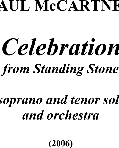 Celebration (from Standing Stone)