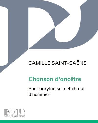 Chanson d'ancêtre Op. 53