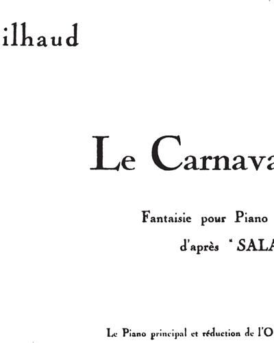 Le Carnaval d'Aix Op. 83b