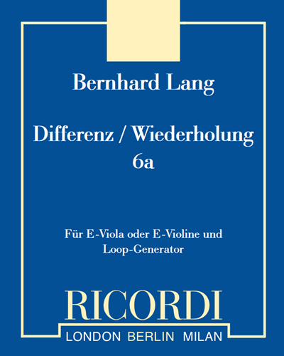Differenz / Wiederholung 6a