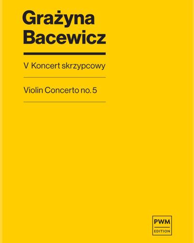 Violin Concerto No. 5
