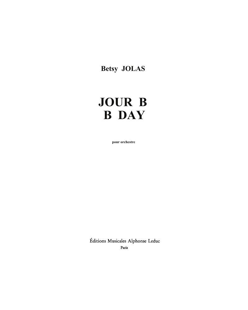 B day