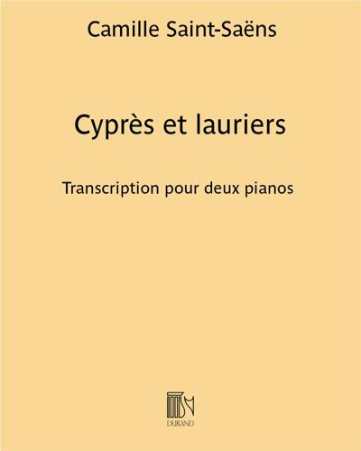 Cyprès et lauriers