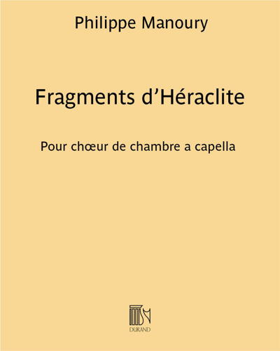Fragments d'Héraclite
