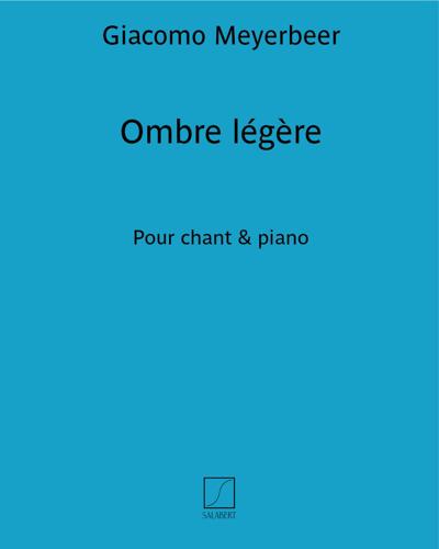 """Ombre légère (extrait n. 11 de """"Le pardon de Ploërmel"""")"""