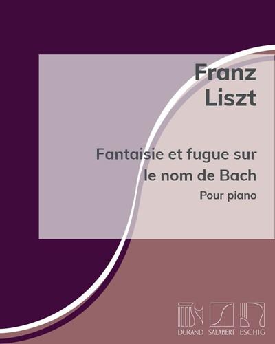 Fantaisie et fugue sur le nom de Bach