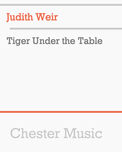 Tiger Under the Table