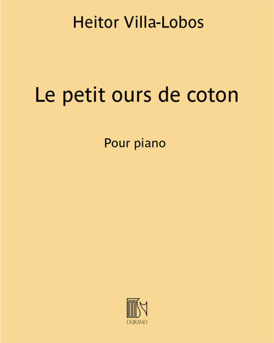 """Le petit ours de coton (extrait n. 8 des """"La famille du bébé n. 2"""")"""