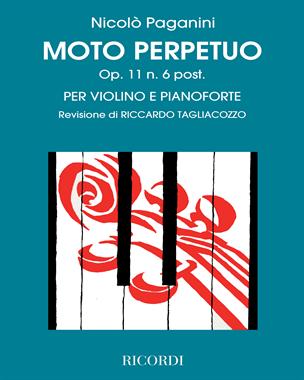 Moto perpetuo Op. 11 n. 6 post.