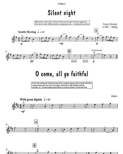 Silent Night/O Come All Ye Faithful