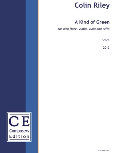 Colin Riley: A Green and Yellow Melancholy sheet music | nkoda