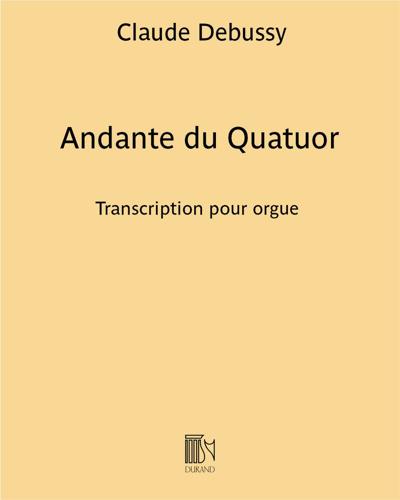 Andante du Quatuor