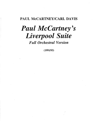 Paul McCartney's Liverpool Suite