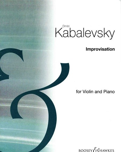 Improvisation for Violin and Piano, op. 21