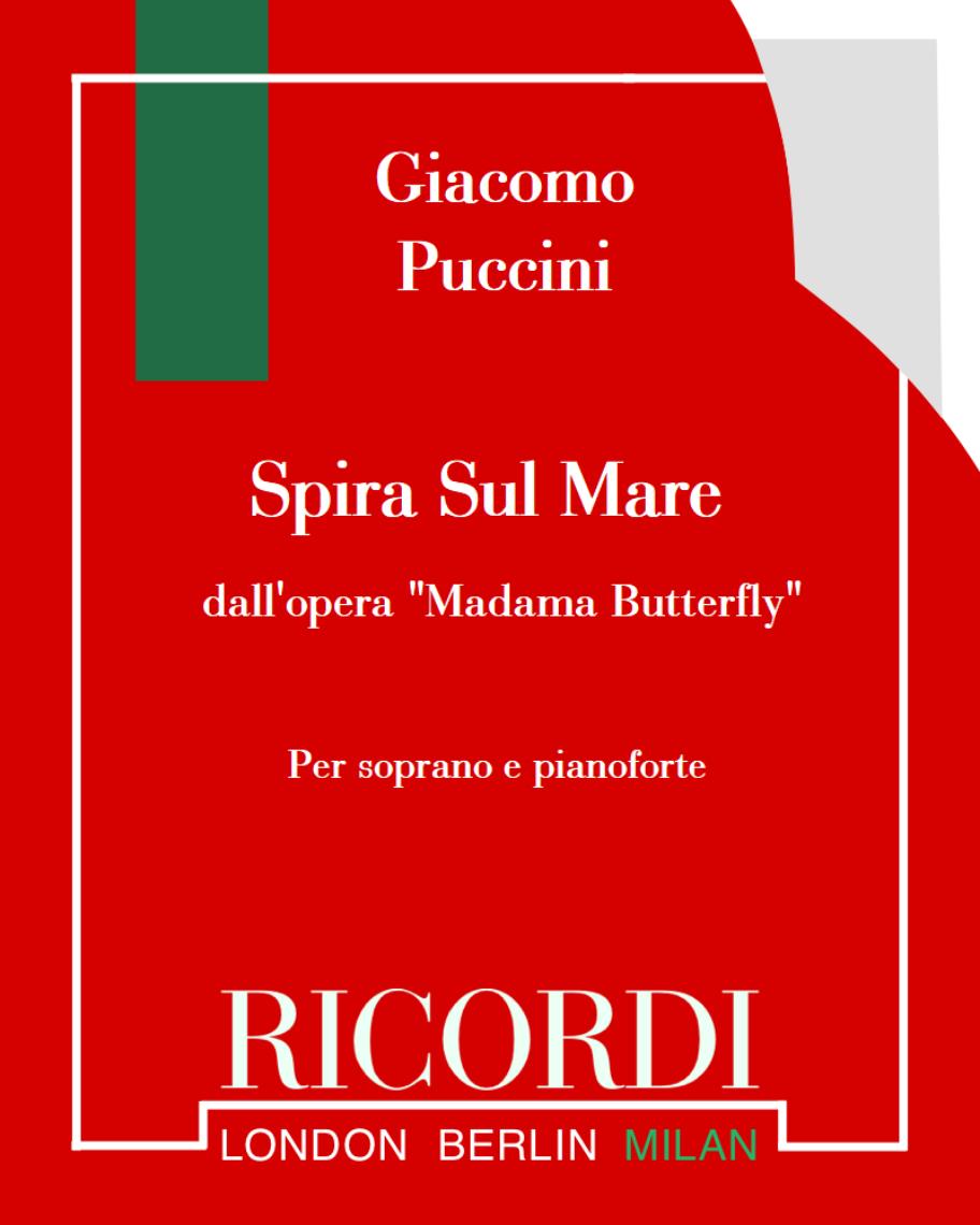 """Spira Sul Mare (dall'opera """"Madama Butterfly"""")"""