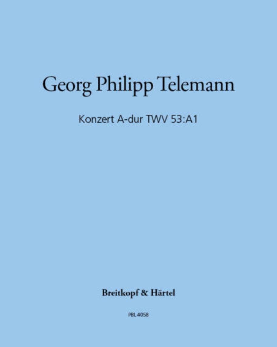 Konzert A-dur TWV 53:A1