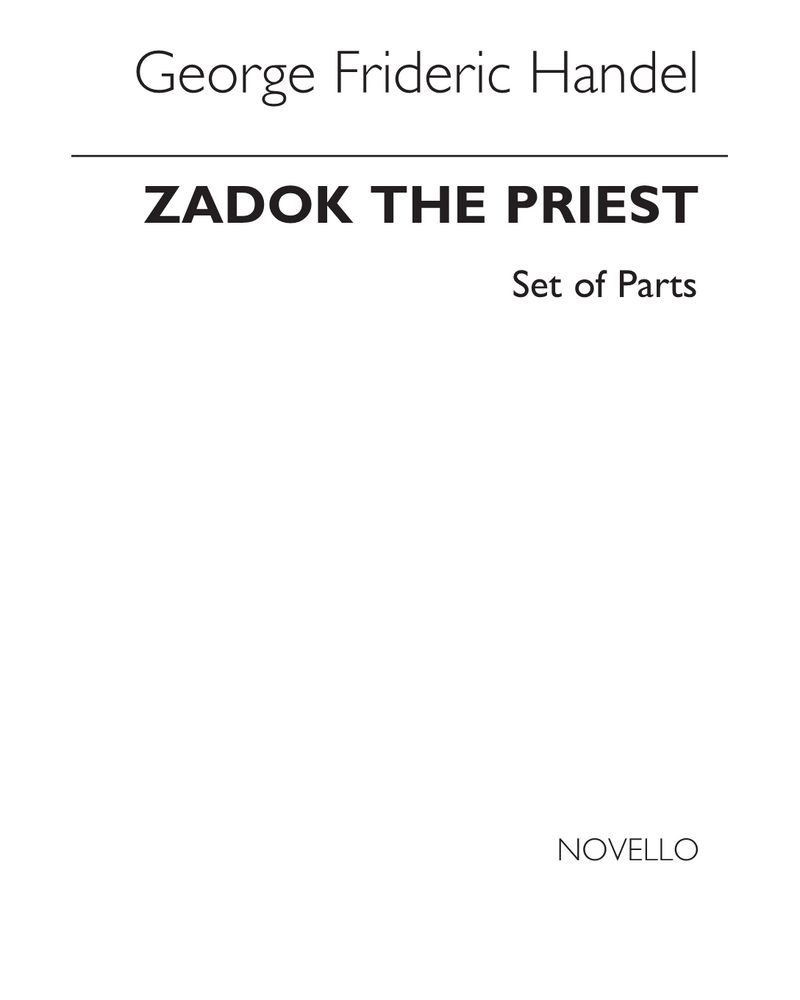 Zadok the Priest, HWV 258