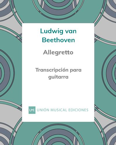 Allegretto (de la Sonata n° 14, Op. 27 n° 2)