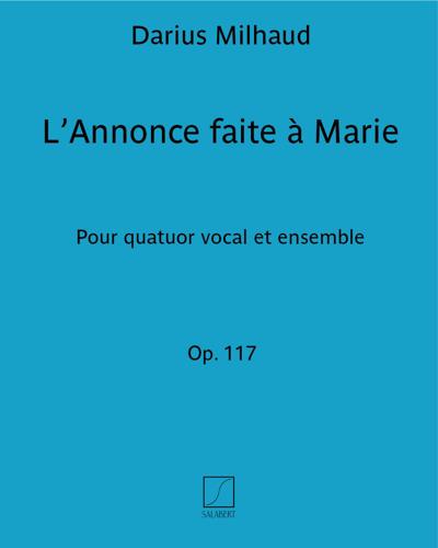 L'Annonce faite à Marie Op. 117