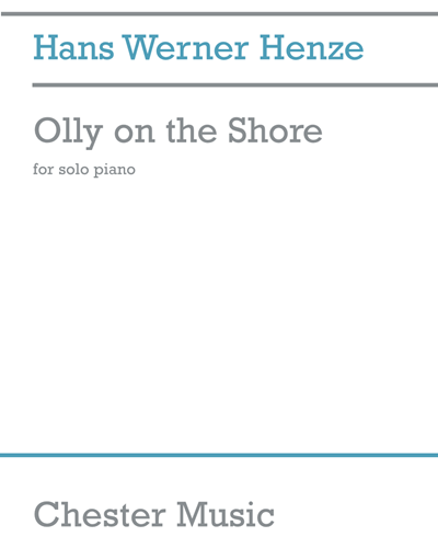 Olly on the Shore