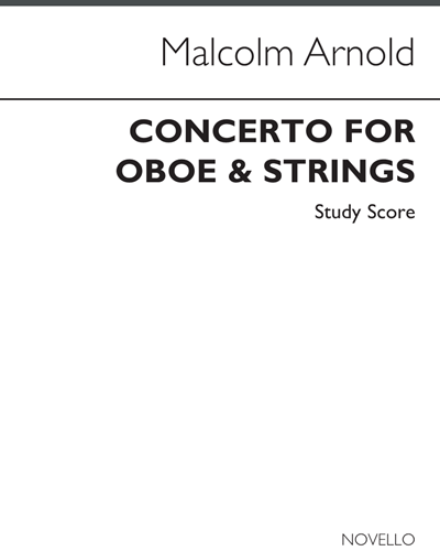 Concerto for Oboe and Strings, Op. 39