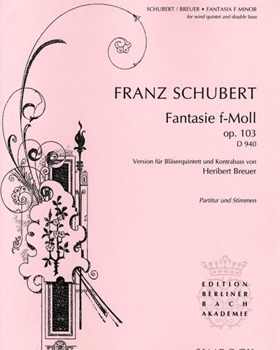 Fantasy in F minor D 940, op. 103