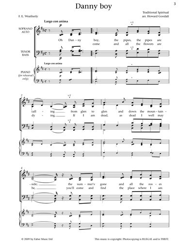 Sheet music by Howard Goodall on nkoda