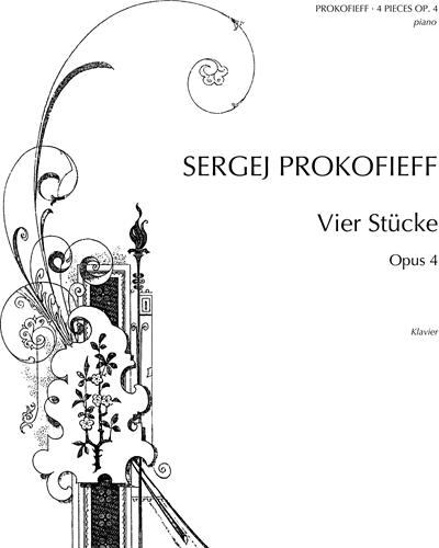 Four Pieces, op. 4