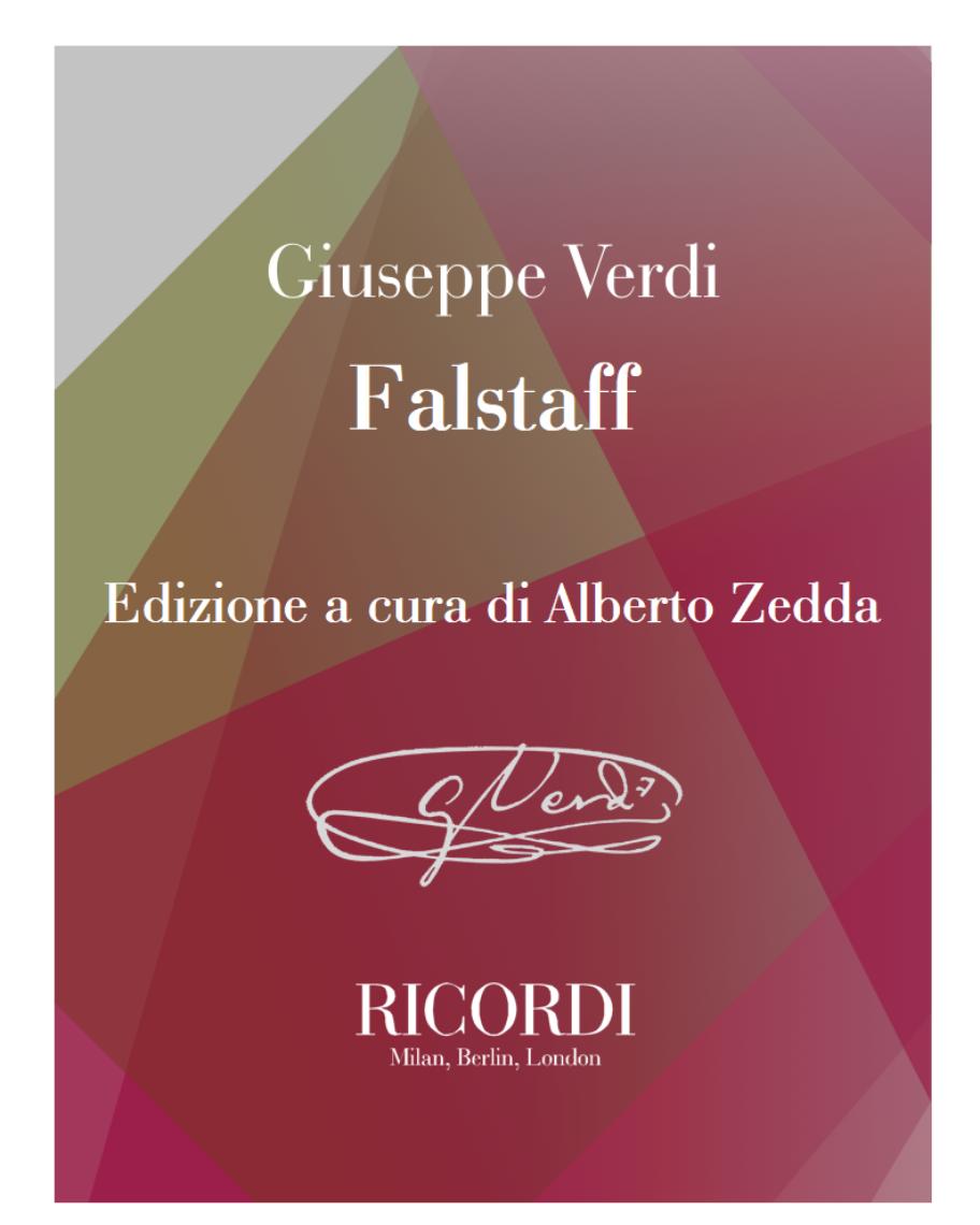 Falstaff - Edizione a cura di Alberto Zedda