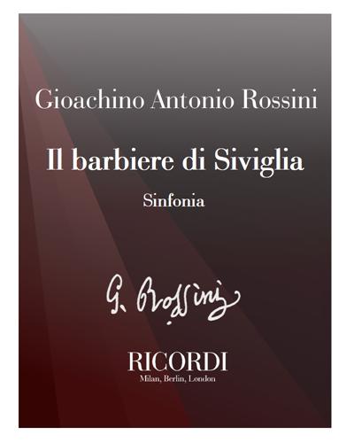 Il barbiere di Siviglia [Critical Edition] - Sinfonia