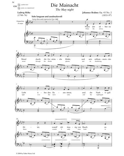 Die Mainacht (Op. 43 No. 2)