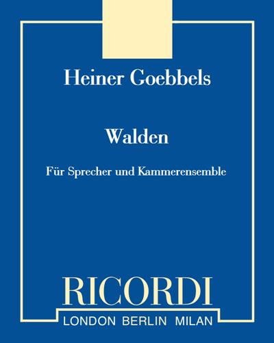 Walden - Für Sprecher und Kammerensemble