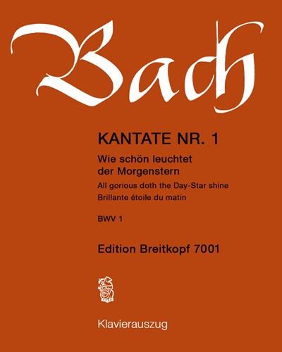 """Kantate BWV 1 """"Wie schön leuchtet der Morgenstern"""""""