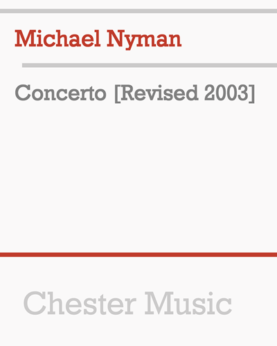 Concerto [Revised 2003]