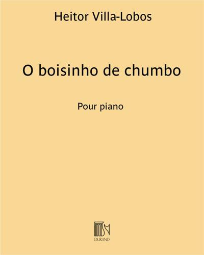 "O boisinho de chumbo (extrait n. 6 de ""A próle do bébé n. 2"")"